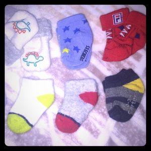 O-3m infant socks (boy)